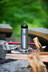 Klean Kanteen Wide Trinkflasche mit Edelstahl Loop Cap 800ml brushed stainless